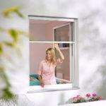 Fenster Insektenschutz als Rollo